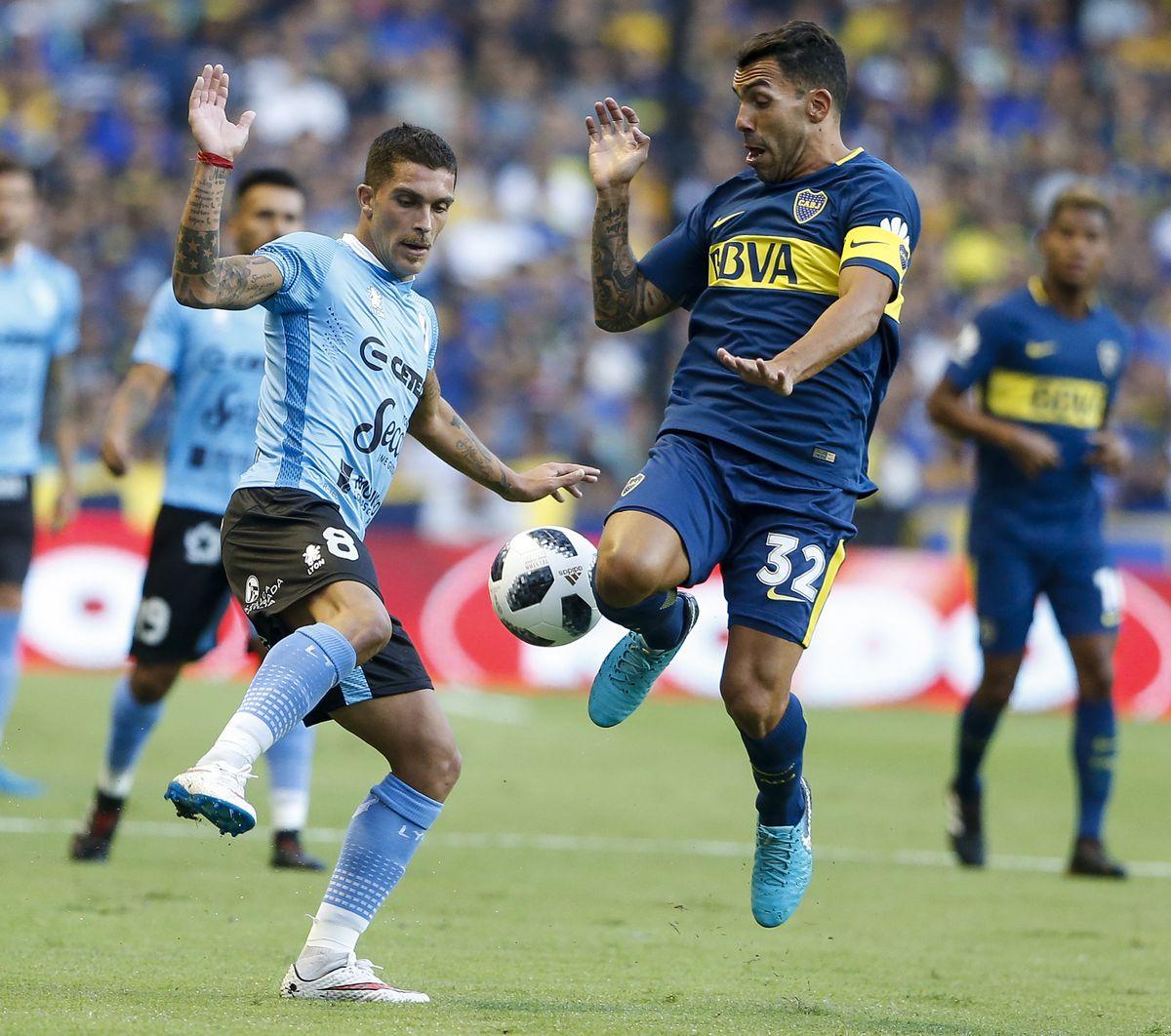 Boca Juniors v Temperley - Superliga 2017/18
