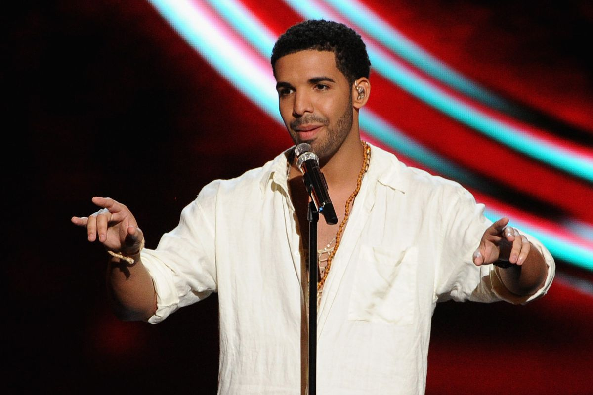 Drake at the  2014 ESPYS - Show