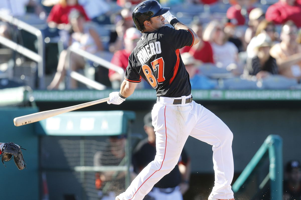 J.T. Realmuto's future in a Marlins uniform should depend on his bat.