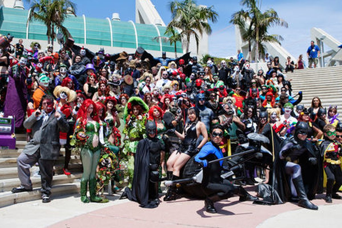 """Attendees at Comic Con 2014 in San Diego; Photo by <a href=""""http://www.emilieelizabeth.com/"""">Emilie Elizabeth</a> for Racked"""
