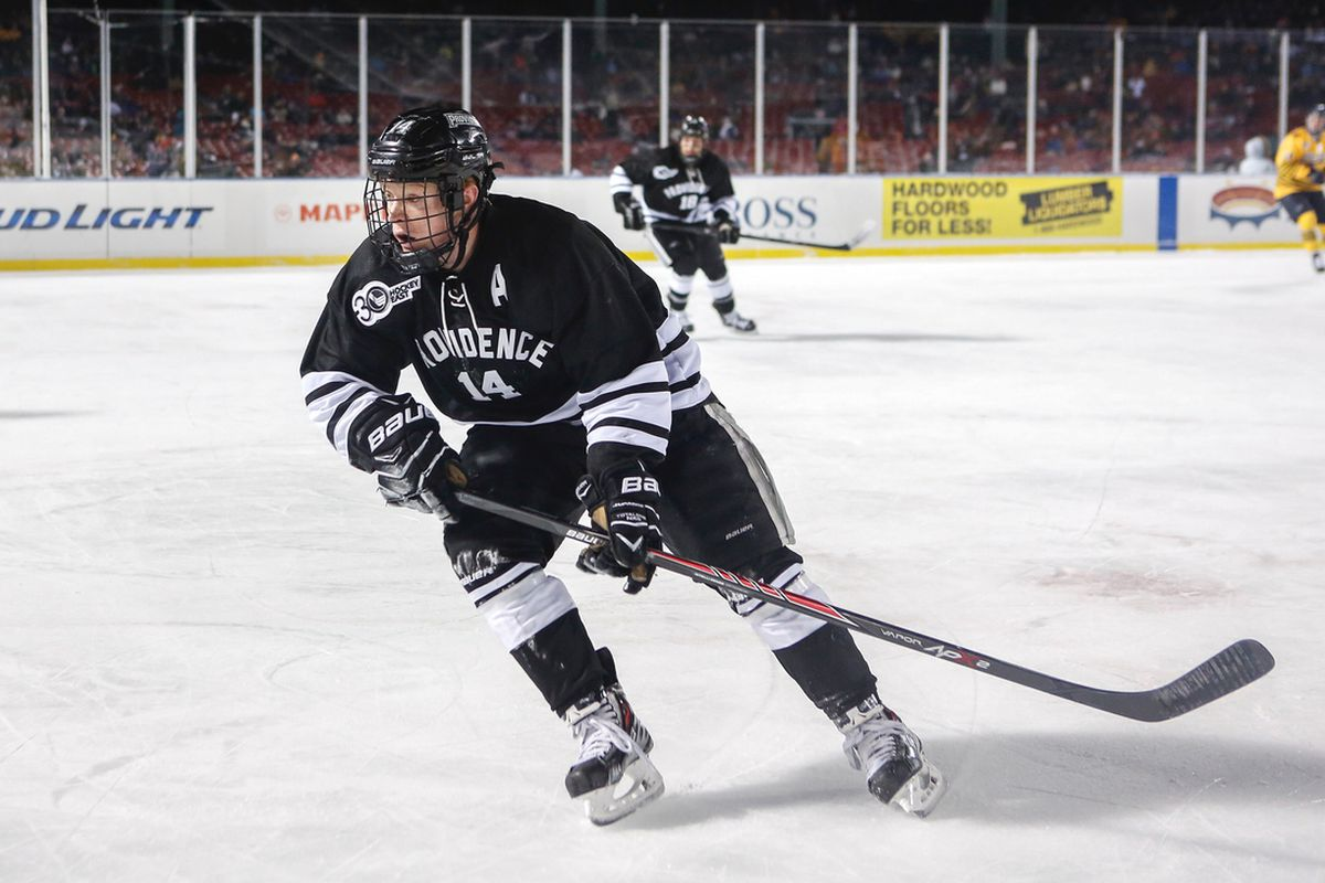 Providence senior Ross Mauermann's first goal of the season stood up as the game winner on Saturday against Boston College.