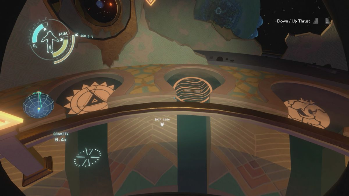 Outer Wilds The Attlerock Eye Signal Locator