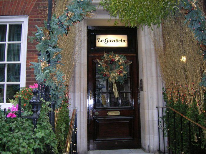 Michelin star London restaurant Le Gavroche