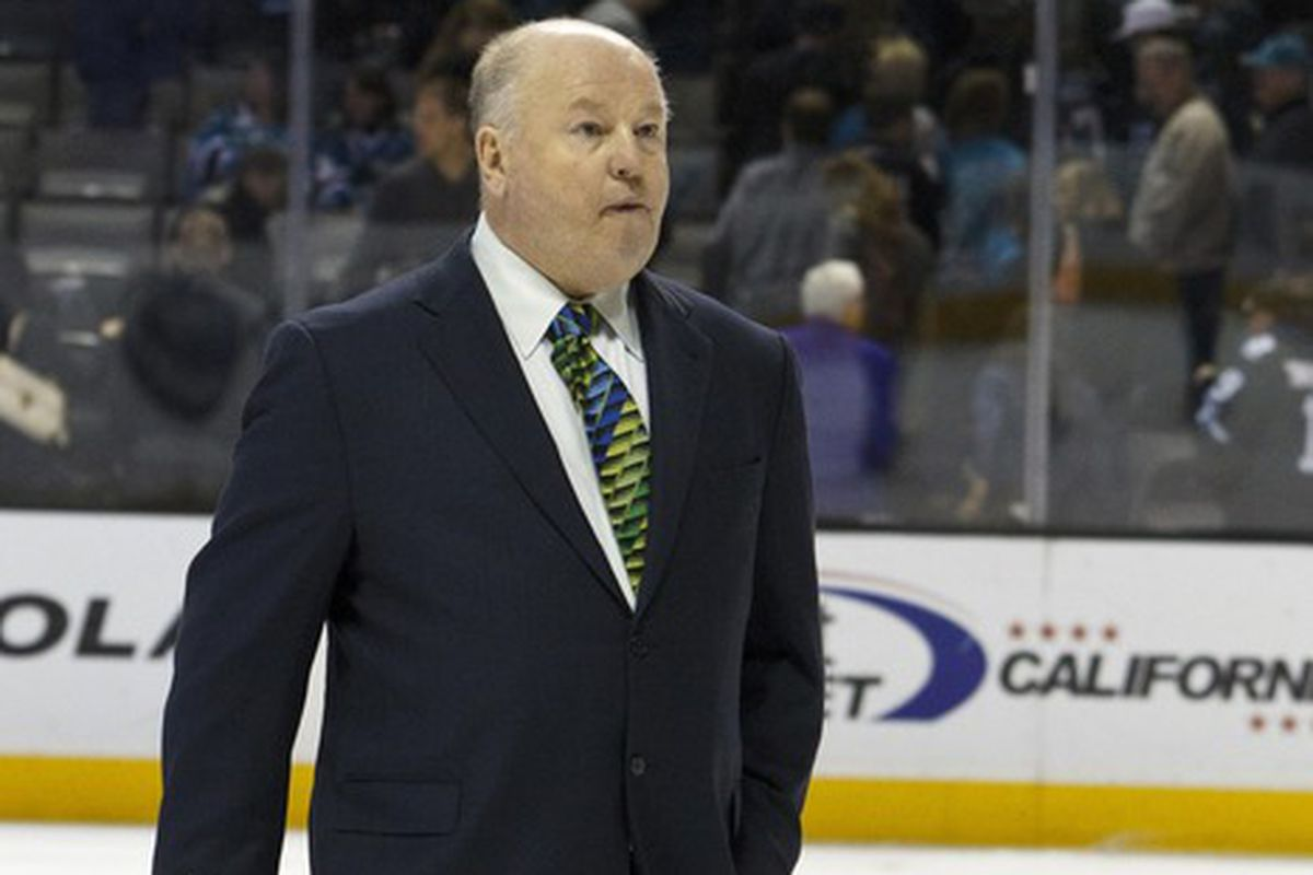 Bruce Boudreau is not impressed