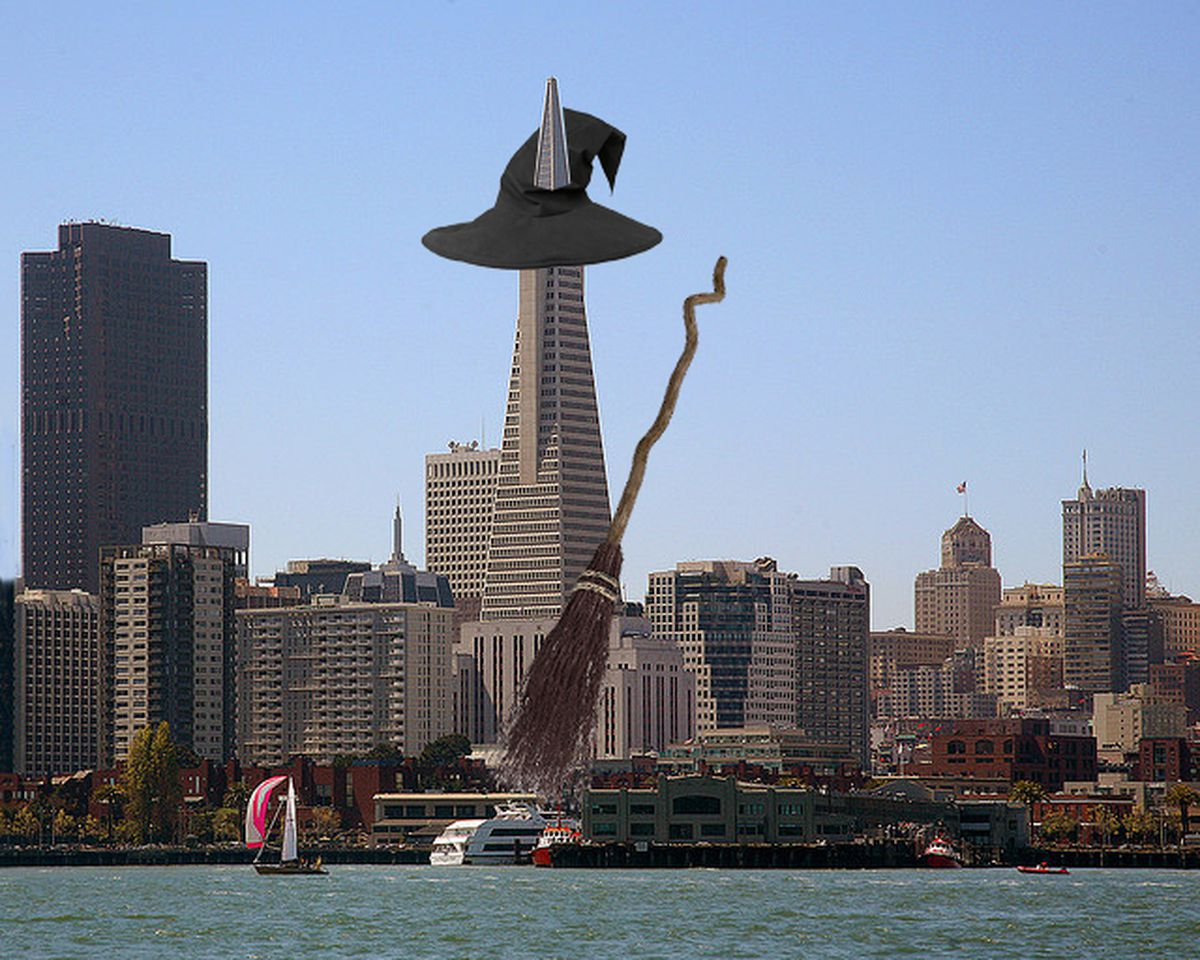 Iconic San Francisco Buildings Get Their Boo On For