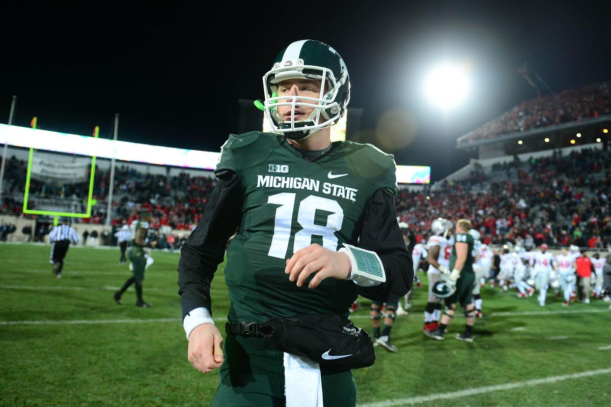 Michigan State quarterback Connor Cook is having a quality season.