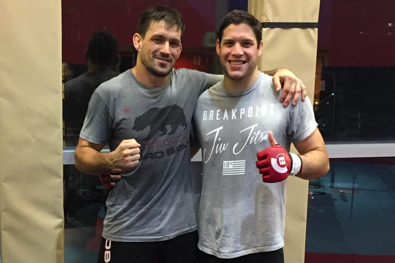 Neiman Gracie inspired by Demian Maia's success ahead of Bellator 180