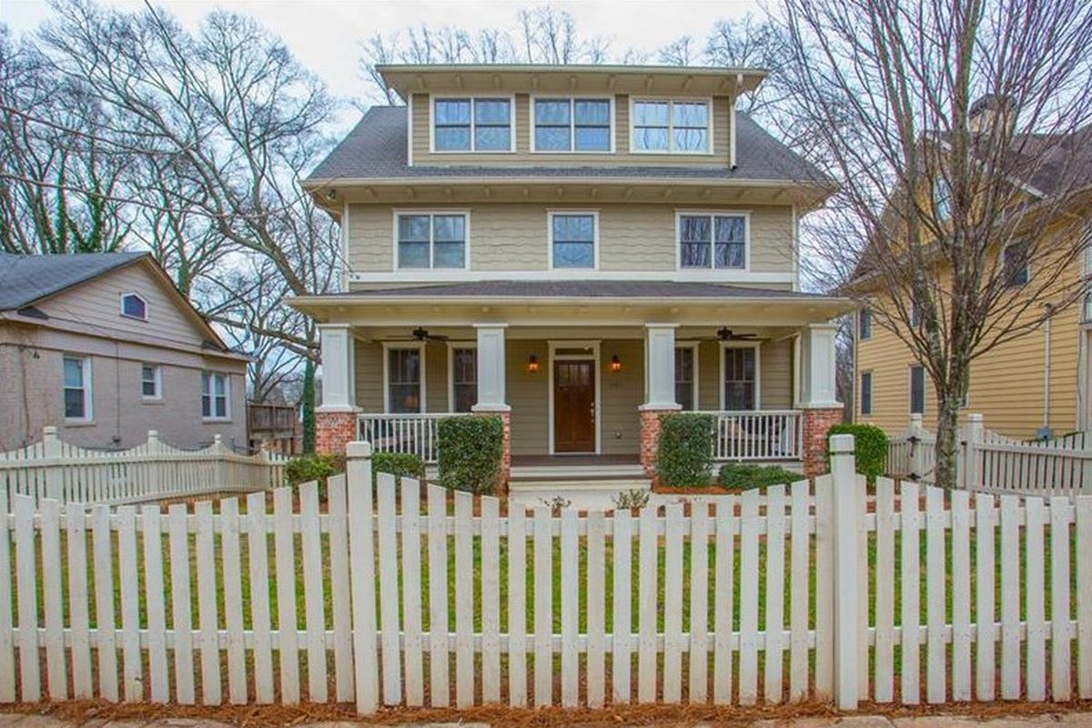 A four-level newer Craftsman in Ormewood Park.