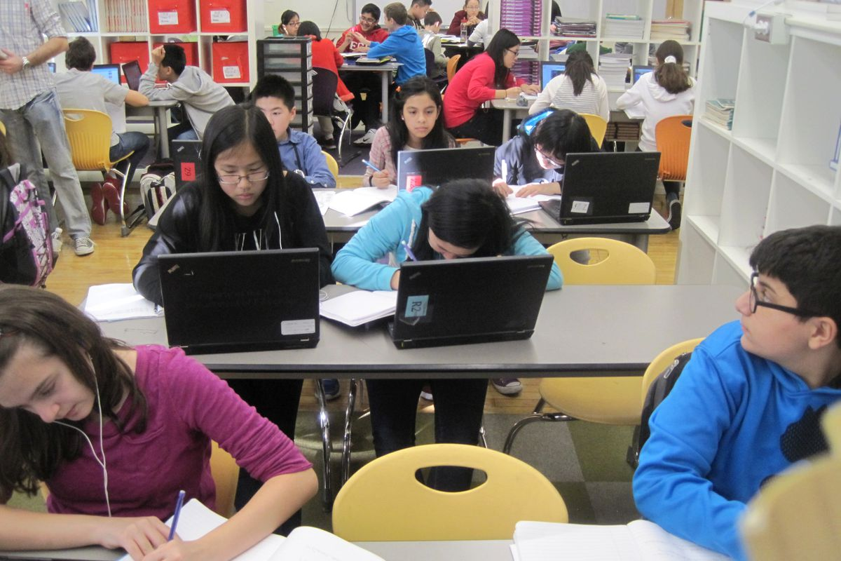 Nearly 370 schools are part of the city's personalized learning programs, known collectively as the iZone.