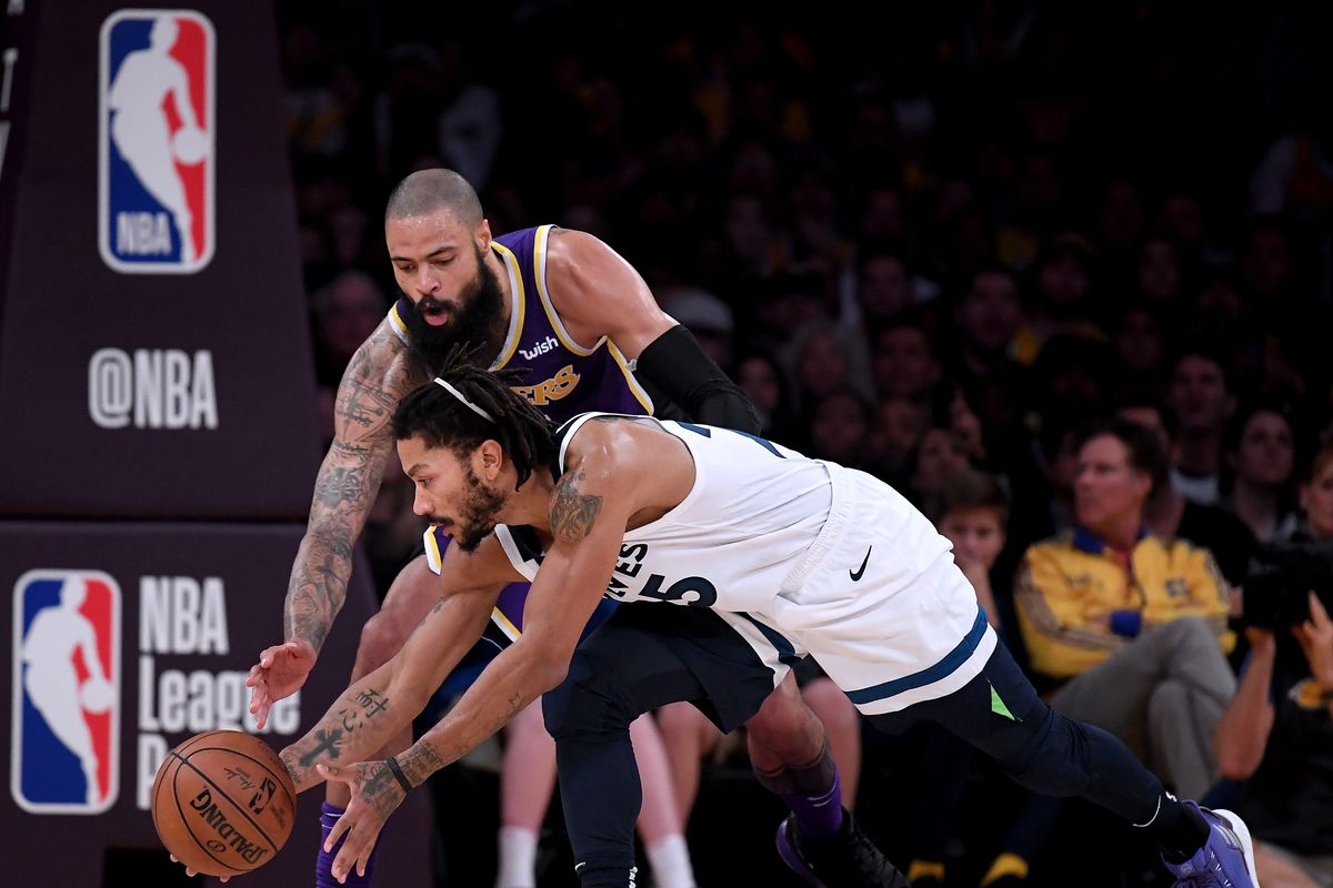 a706ab7d3 Lakers News  Tyson Chandler loved making debut in front of home ...
