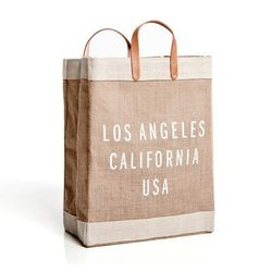 """Los Angeles market bag, $68 at <a href=""""http://store.apolisglobal.com/luggage/los-angeles-market-bag/#natural"""">Apolis: Common Gallery</a>"""
