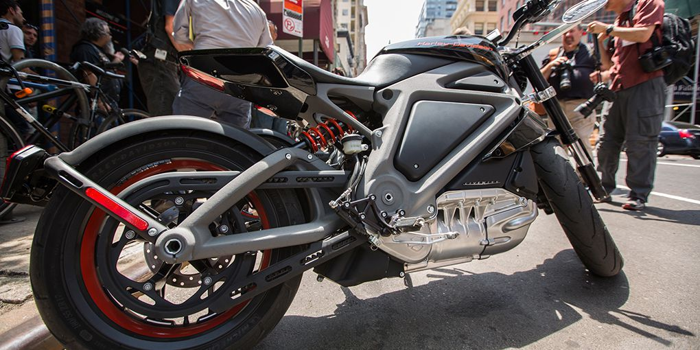 Harley-Davidson's first production electric motorcycle will