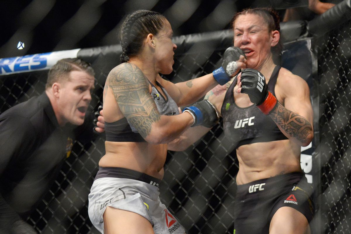 Amanda Tate miesha tate says cris cyborg 'never needed a strategy' until