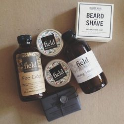 """Goodies from <a href=""""http://hudsonmadeny.com/""""><b>Hudson Made NY</b></a> and Field Apothecary. Such amazing healing products coming out of the Hudson Valley. I'm pretty excited about supporting such awesome, local, small batch products with integrity."""