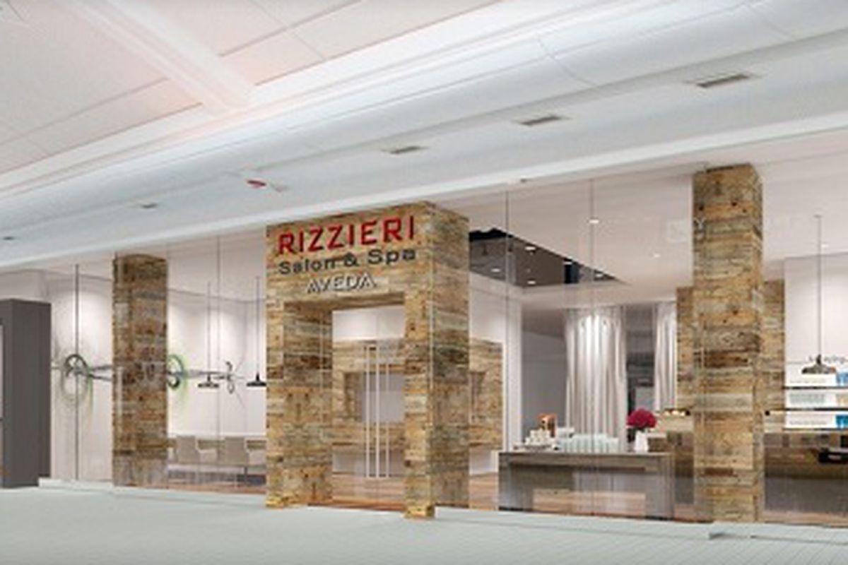 "A rendering of the salon. Image credit: <a href=""https://www.facebook.com/rizzierisalonsandspas?"">Rizzieri Salon &amp; Spa/Facebook</a>"