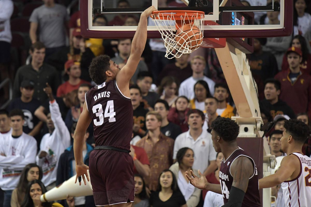 NCAA Basketball: Texas A&M at Southern California