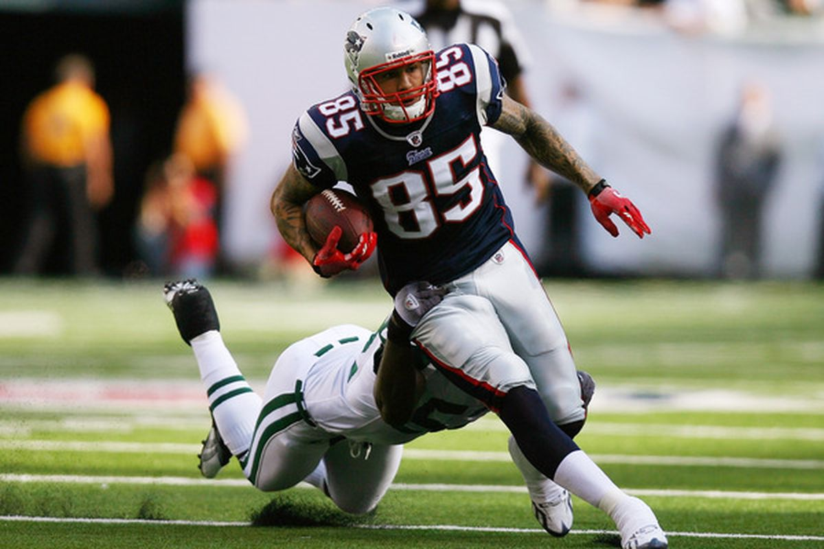 Aaron hernandez was cut by the new england patriots after he was - Andrew Burton The New England Patriots Officially Released Tight End Aaron Hernandez