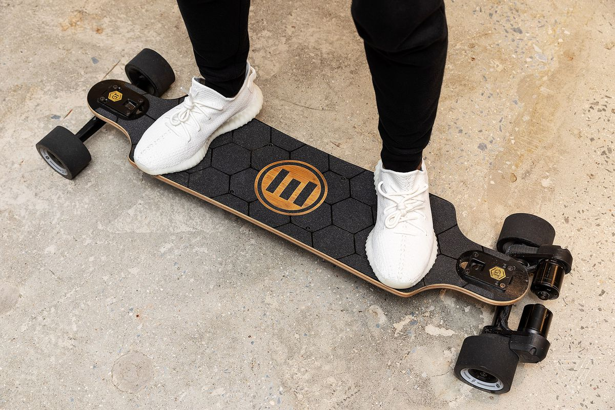 Evolve Bamboo GTX electric skateboard review: too fast, too furious  The Verge