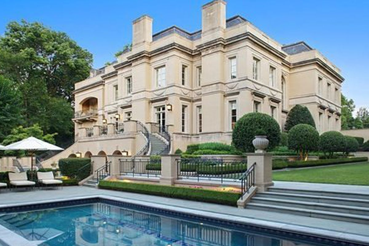 D c 39 s most expensive home on the market just found a for Most expensive homes on the market