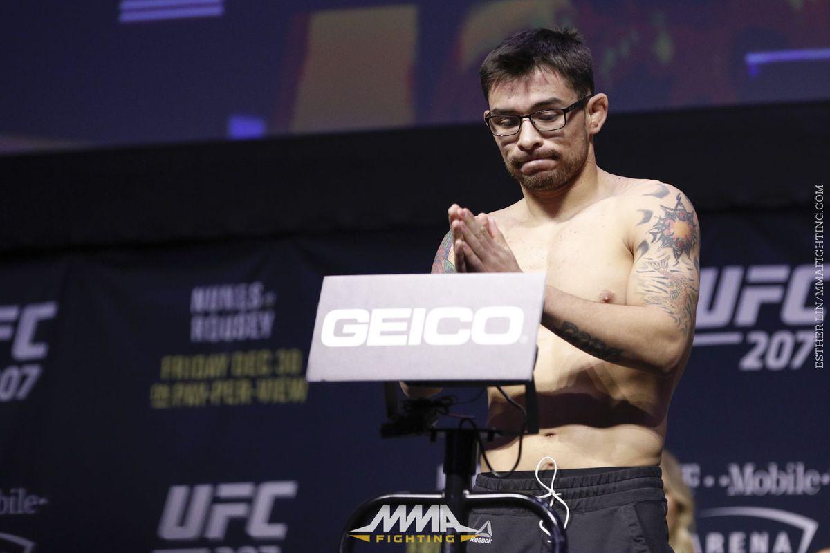 UFC 207 Weigh-ins