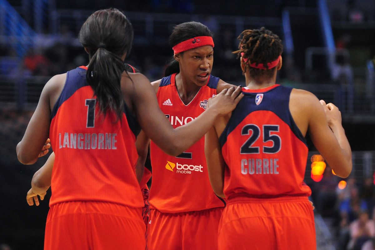 The Mystics have lost five straight after starting 4-1.