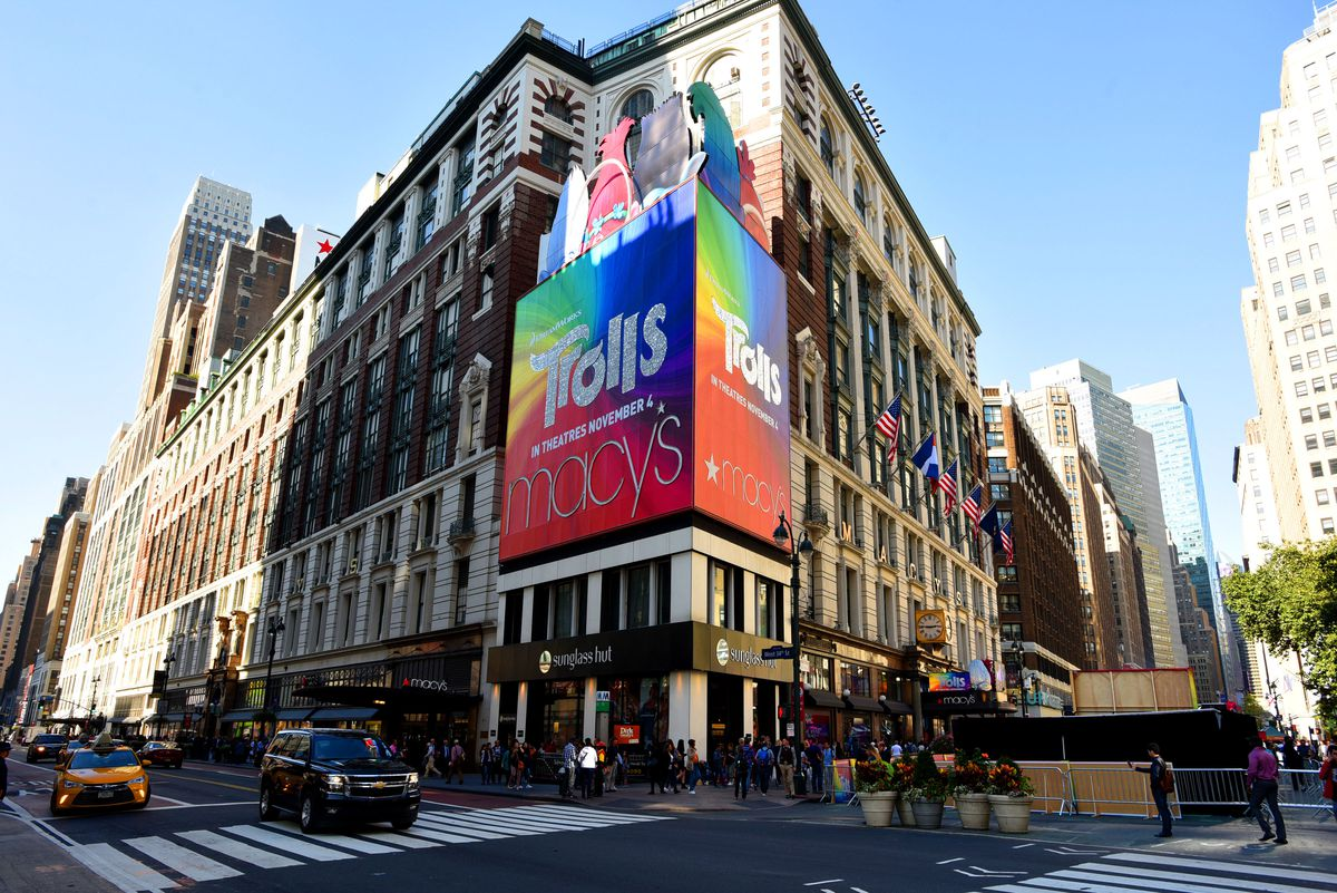 The Macy's flagship store in New York City's Herald Square.