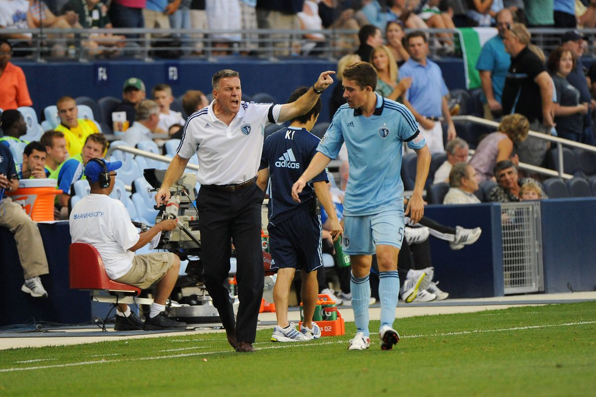 They may not have always seen eye-to-eye on everything, but <strong>Sporting KC</strong> head coach <strong>Peter Vermes </strong>has to have more confidence in <strong>Matt Besler</strong>, now, more than ever.