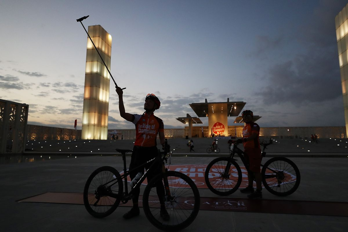 Bryn Lennon  Getty Images for Qatar Cyclist Center