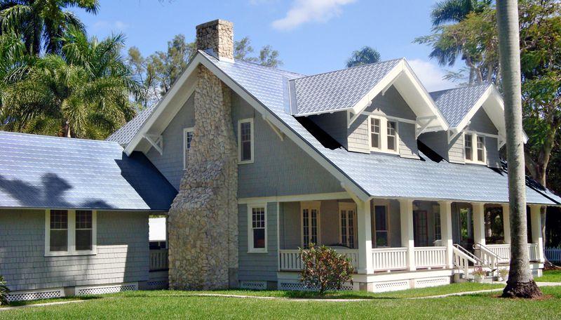 Victorian shingle metal roof, July/Aug 2020