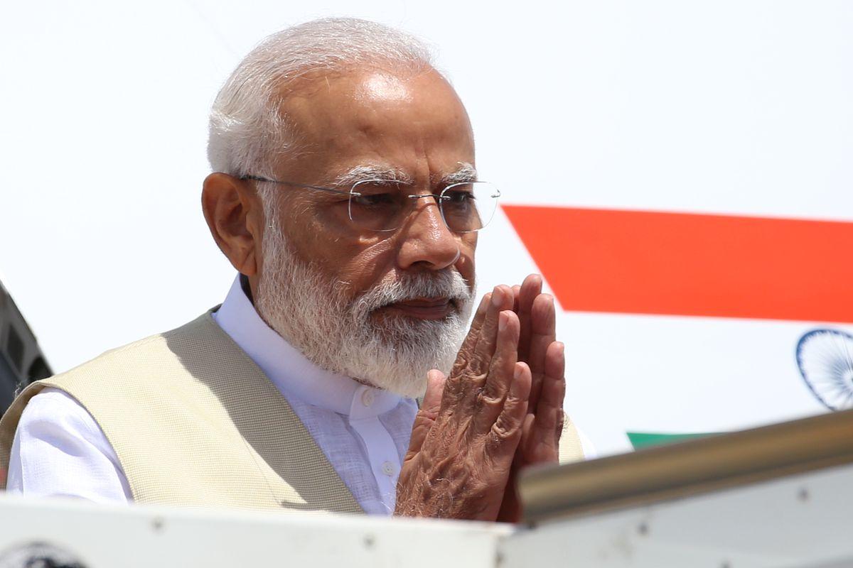 "Narendra Modi says Kashmir power grab ""a new era"" for India"
