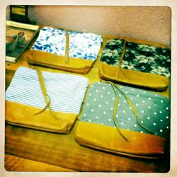 Pouches from Scout and Catalogue