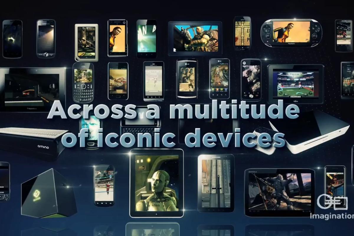 Imagination Technologies PowerVR devices stock press 1200