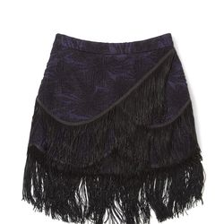 Mia skirt in black, originally $298