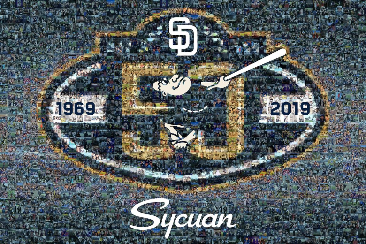 81ed18f10a Padres Officially Announce 50th Anniversary Logo - Gaslamp Ball