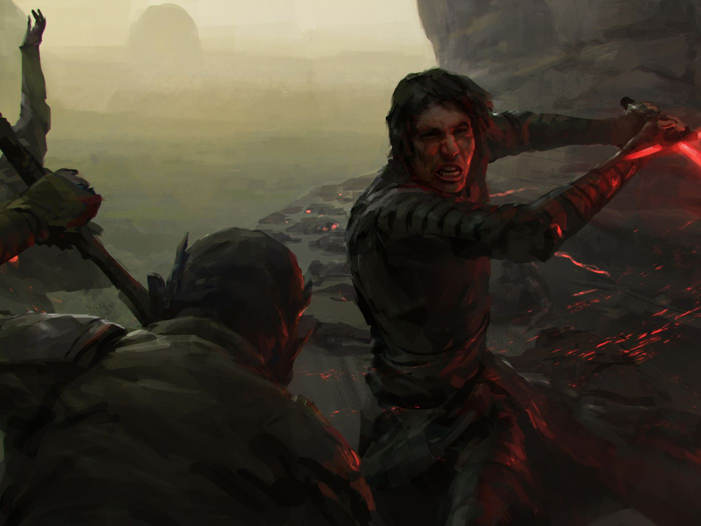 Star Wars The Rise Of Skywalker Art Book Reveals Canceled Storylines Polygon