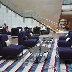 The Lobby Bar at the Marriott Marquis.