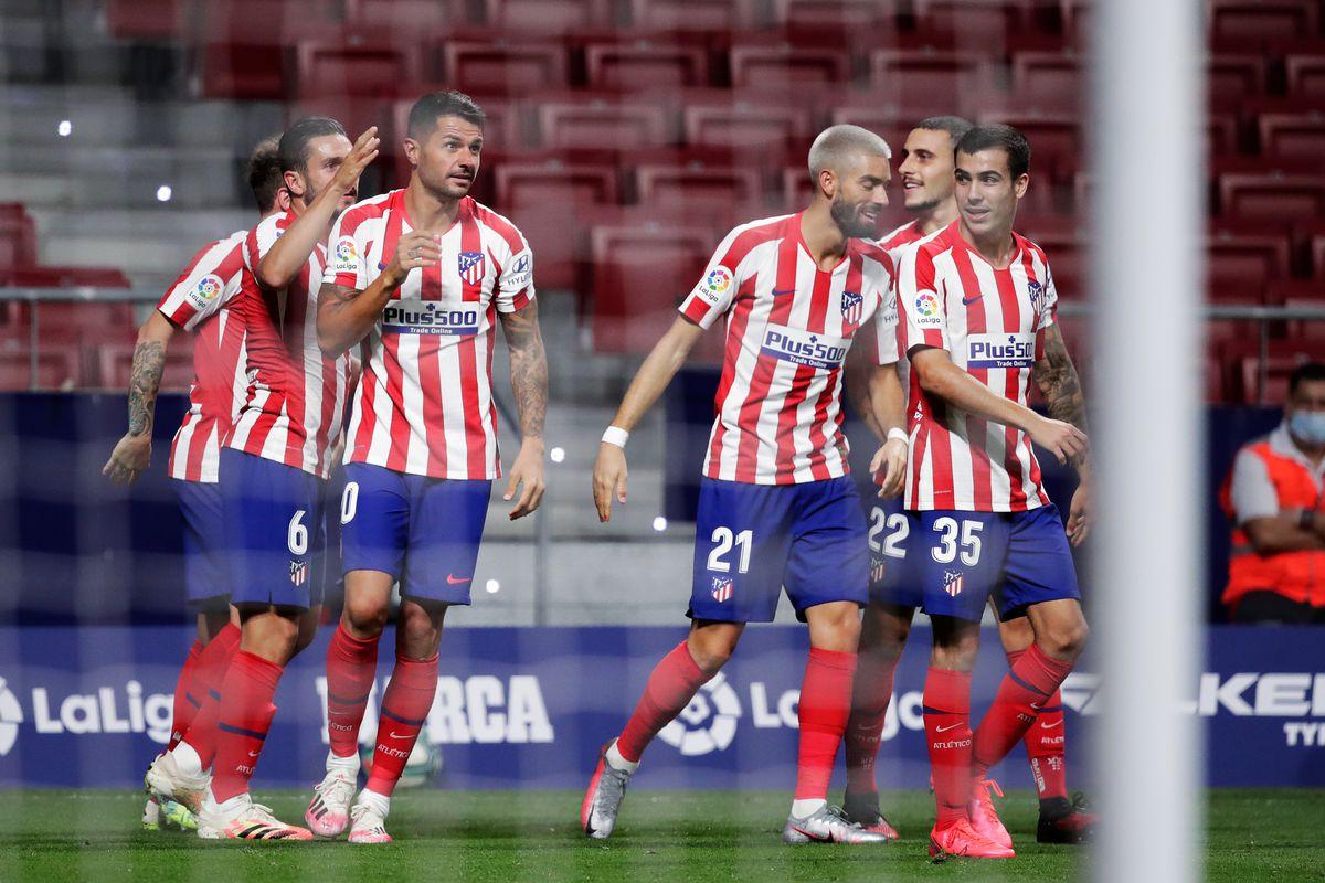 Atletico Madrid v Real Valladolid - La Liga Santander
