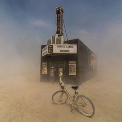 Americana: Black Rock Bijou Theatre at Burning Man 2013