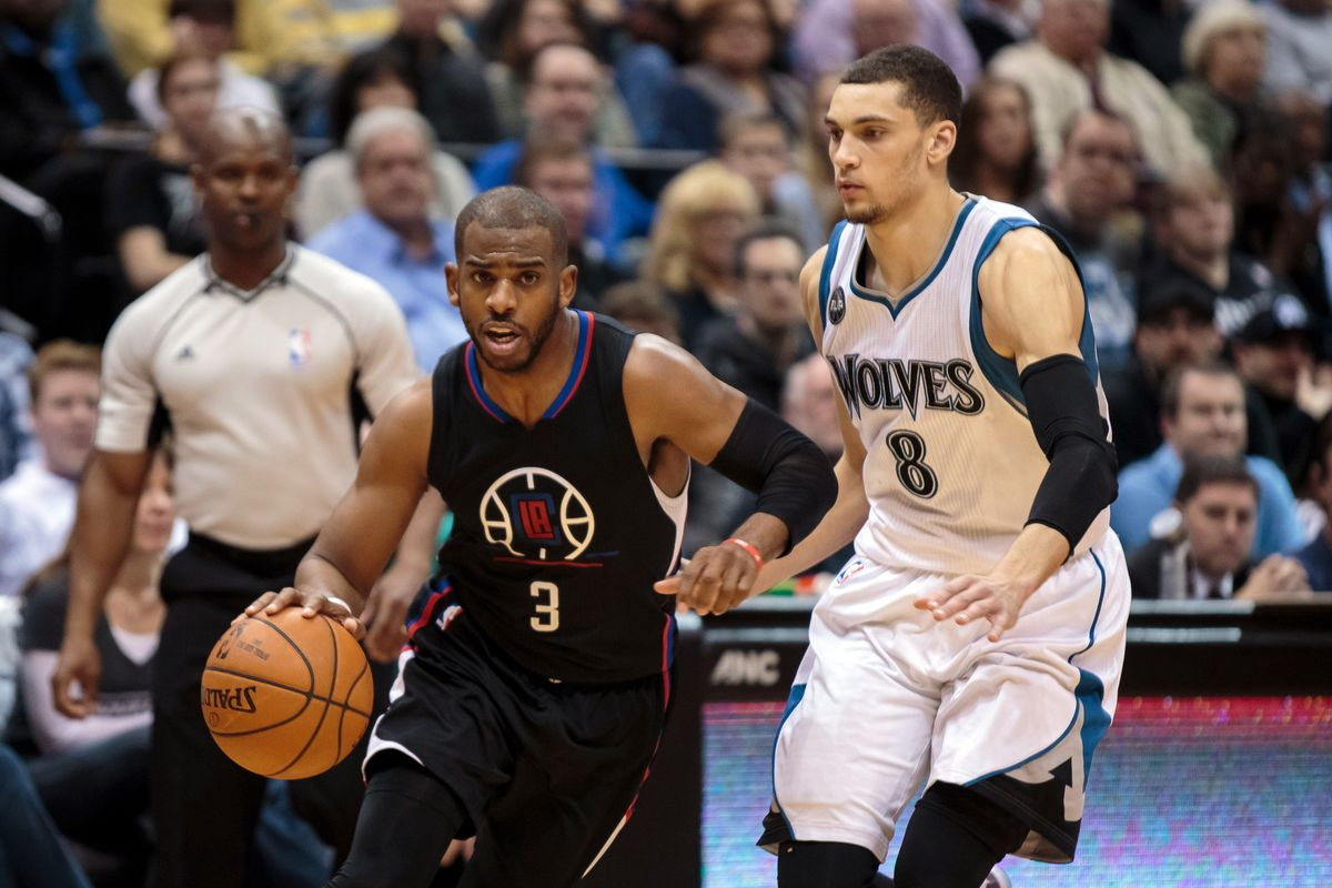 NBA: Los Angeles Clippers at Minnesota Timberwolves