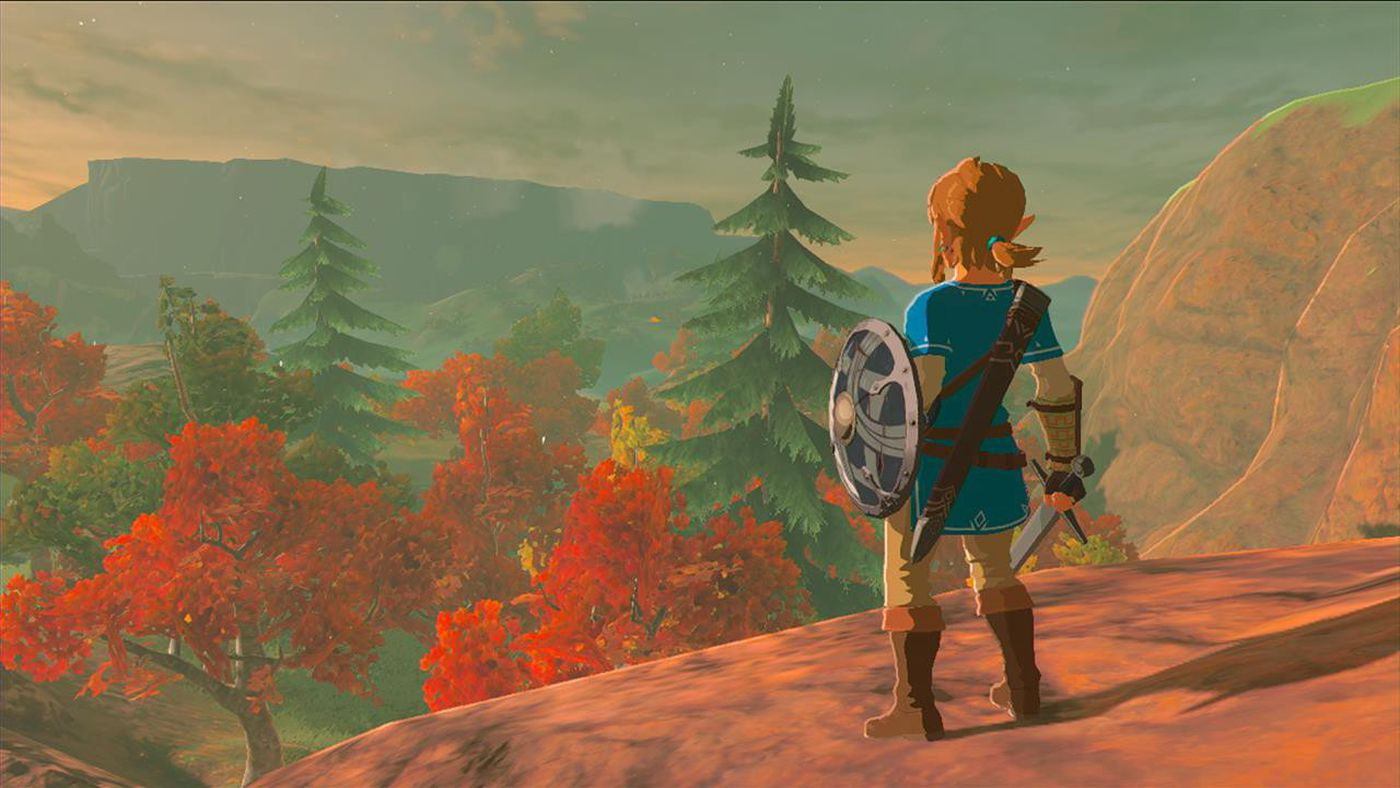 The Legend of Zelda: Breath of the Wild' Is a Game Without