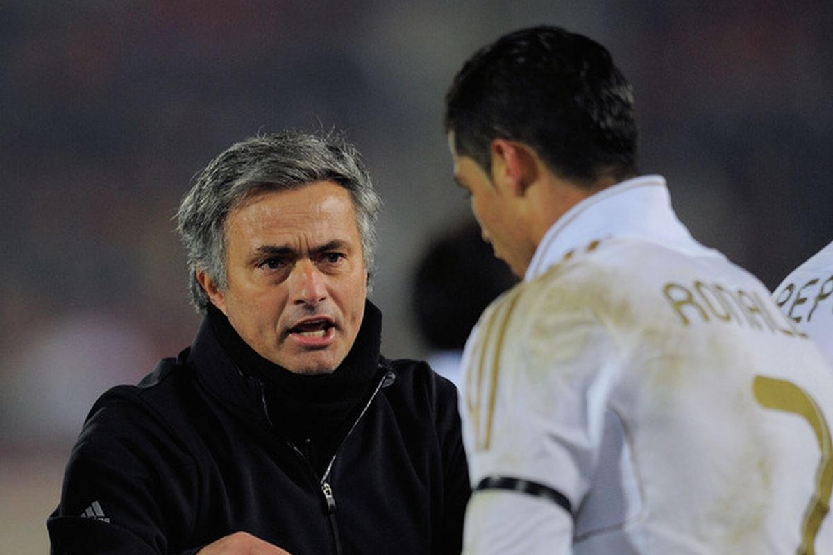 If Mourinho were to come to United, can we make him a package deal with Cristiano Ronaldo?