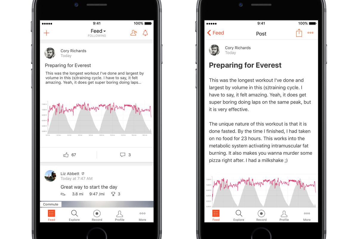Fitness app Strava really, really wants to be the social