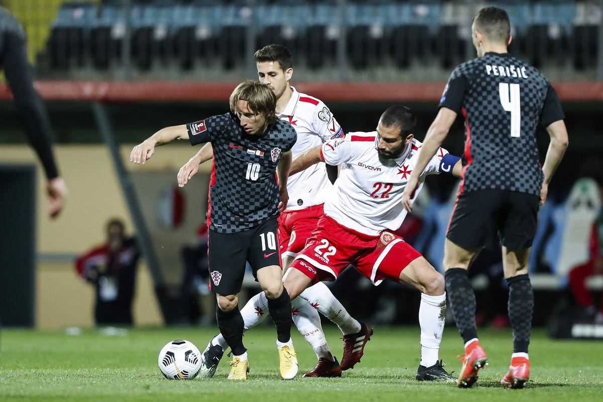 Croatia v Malta - FIFA World Cup 2022 Qatar Qualifier