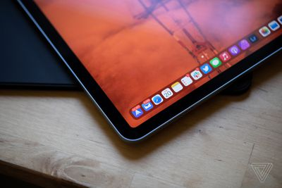 The screen is .1 inch smaller than the 11-inch iPad Pro