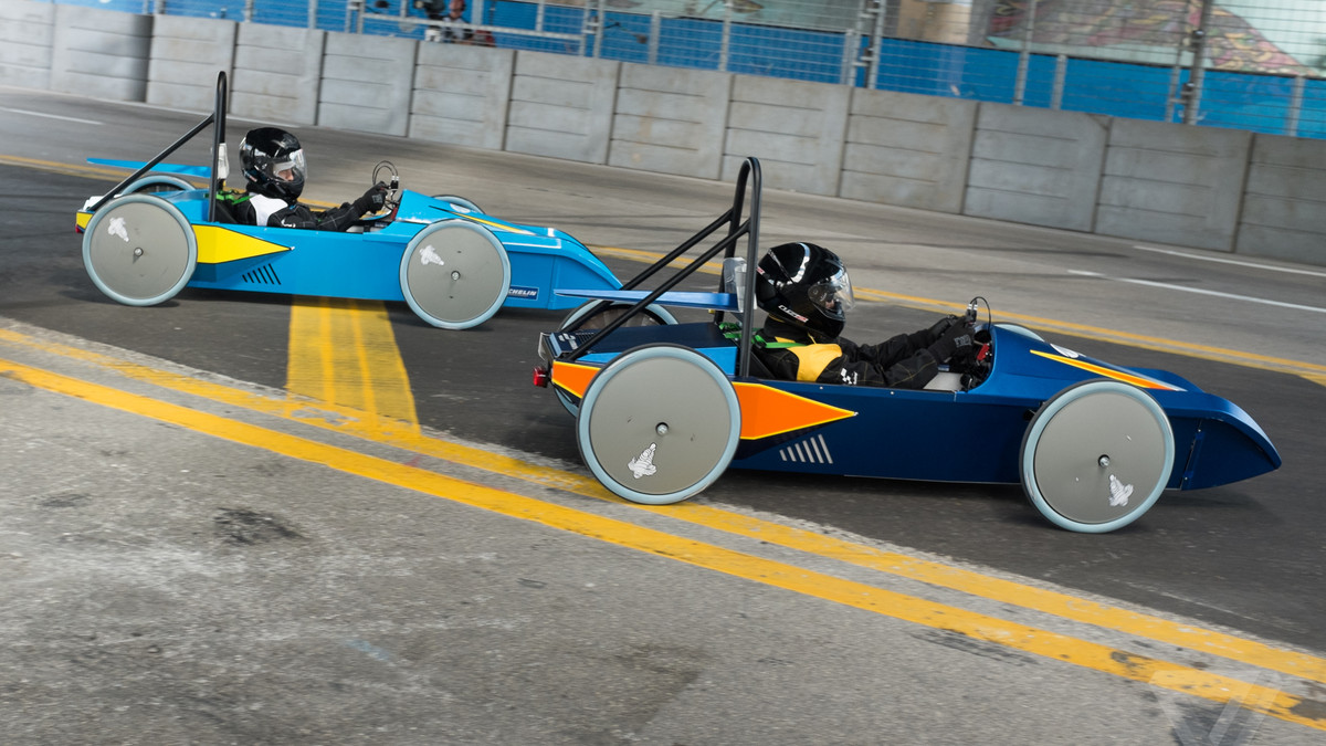 These Bullet Shaped Electric Race Cars Are Turning S Into Engineers