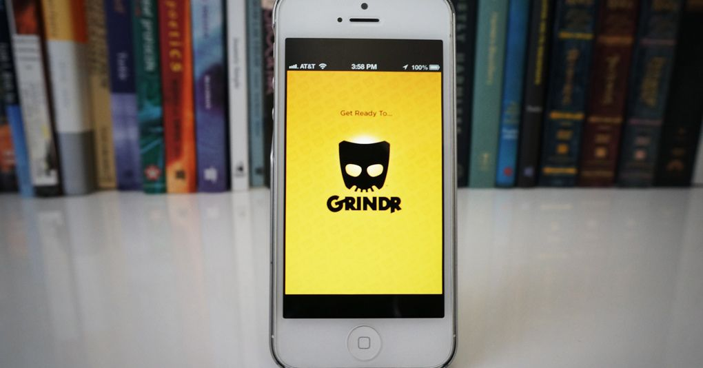 Photos on the gay dating app Grindr are by no