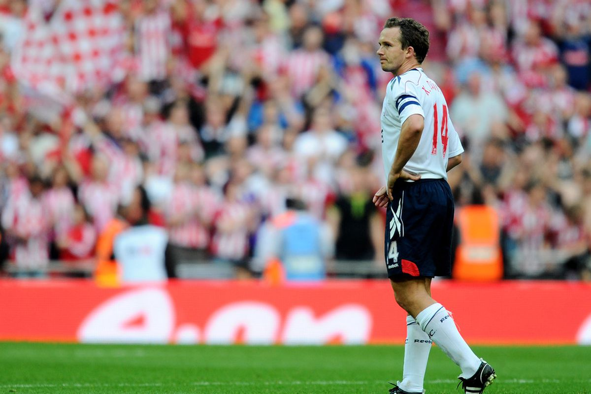 Bolton's big day out was just a bit sadder than Kevin Davies quitting Twitter...