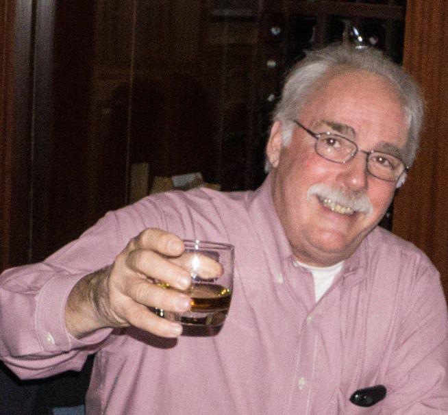 Veteran journalist Mark Silva enjoyed a good glass of wine and craft beers.   Facebook
