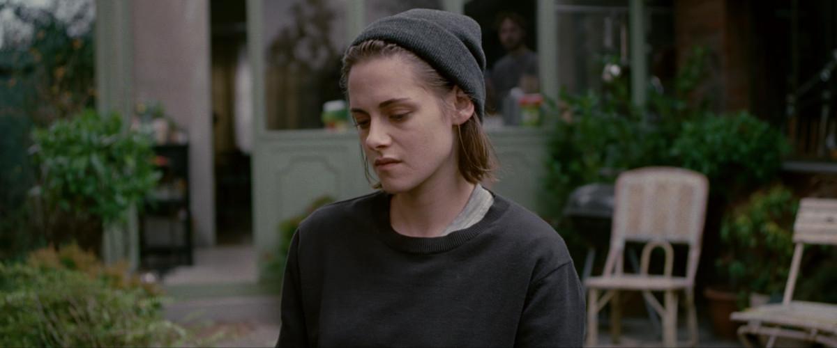 Kristen Stewart looking downward in 'Personal Shopper'