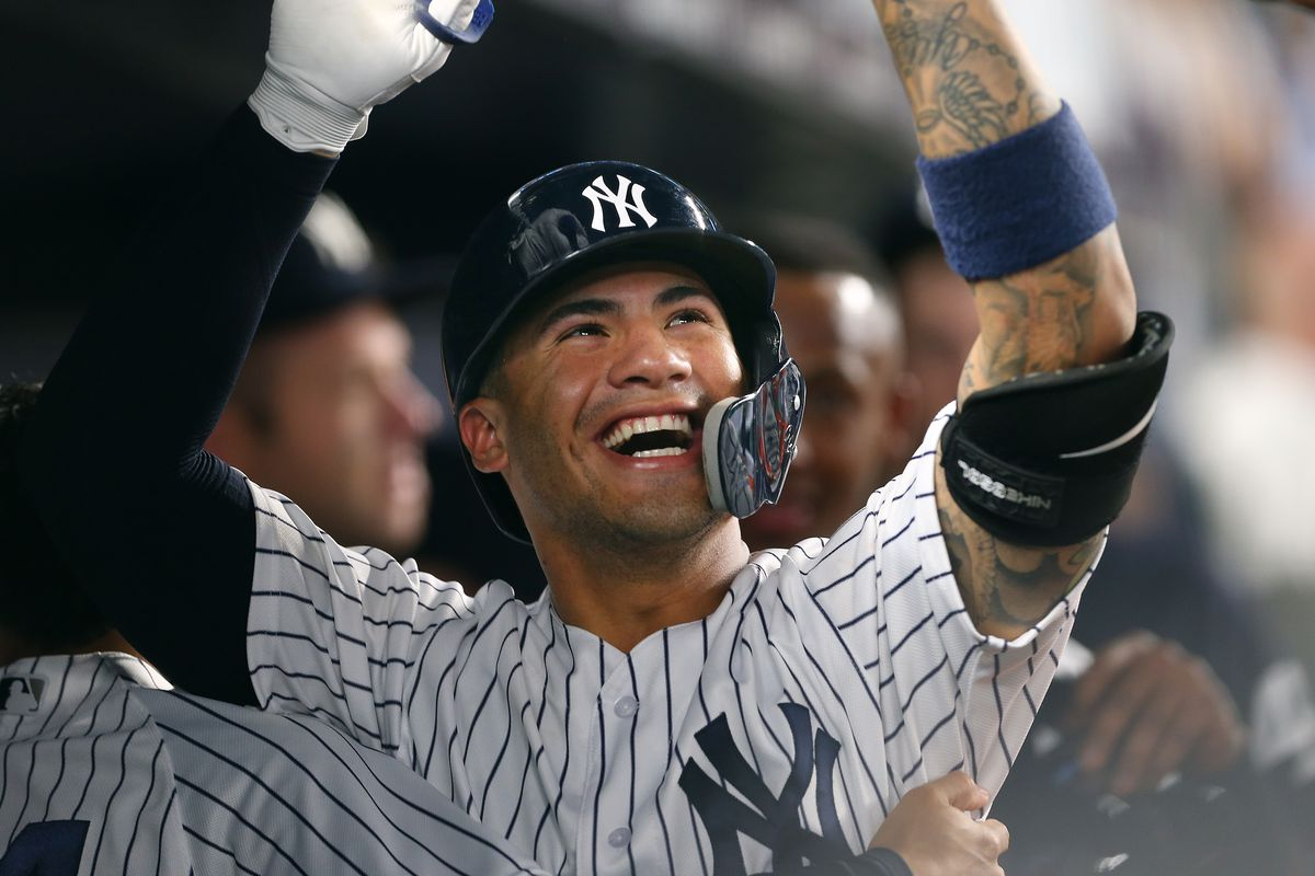 Gleyber Torres belts his 20th home run of the year, giving the Yankees a pair of rookies with 20 or more homers for the first time in franchise history.